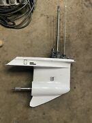 Evinrude Ficht 175hp Outboard Lower Unit With 25 Shaft Freshwater Used
