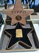 Zippo Lighter 2001 Collectible Of The Year Hollywood's Leading Light New