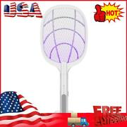 Home Electric Fly Mosquito Swatter Racket Bug Zapper Racket Insects Killer