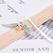 1pc Vintage Wing Shape Bookmark Reading Page Mark School Office Supplies Mw