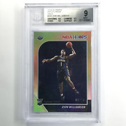 2019-20 Hoops Zion Williamson Rookie Artist Proof Gold 6/10 Bgs 9