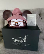Disney Park Designer Mickey Mouse Ears Hat For Adults By Jerrod Maruyama W/ Box