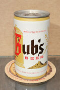Bottom Open Crimp Steel Bubs Pull Tab Beer Can Walter Brewing Eau Claire Wi
