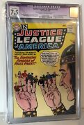 Justice League Of America 10 - Cgc 7.5 - 1st Felix Faust