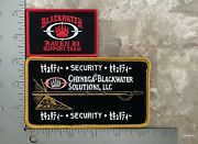 Blackwater Raven 23 And Chenega Patches