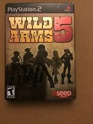 Wild Arms 5 10th Anniversary Edition Sony Playstation 2 2007 Complete Read