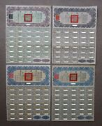 China 1913 1937 1938 1947 Chinese Gold Bonds Mexico German Mexican Bond