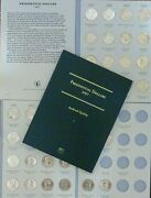 Us Presidential D Coin Set Complete W/ 40 Uncirculated Coins + Littleton Folder