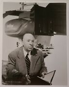 Alfred Hitchcock Hand Signed Photo W/coa