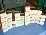 Lot Of 34 Motorcraft Distributor Caps Vintage Domestic And Imports