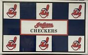Cleveland Indians Checkers. Collectors Item Rare