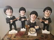 The Beatles Full Set Rare Figures Ornaments Statues Perfect Condition