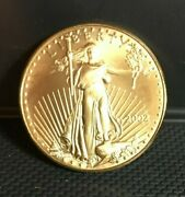 2002 American Gold Eagle 1 Oz Coin   In Stock  
