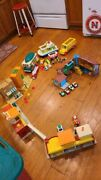 Vintage Fisher Price Little People Lot Sesame Street Hard To Find Accessories