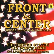 United States Air Force Band Front And Center Classical Artists 1 Disc Cd