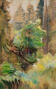 Cake Topper Tree Painting By Emily Carr Art Reproduction
