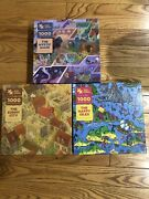 The Magic Puzzle Company - Lot Of 3-piece Puzzles - Complete Series 1 New