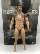 Hot Toys Expendables Barney Ross Mms194 Body W Stallone Head Sculpt Only 1/6