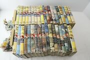 Nice 36 Vol. Set Vintage Hardy Boys - Yellow Spines. Antique And Rare Lot W/dj