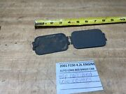 1997-2003 Ford F150 Top Bed Rail Hole Trim Covers Xl31-99290-aaw Set Of 2