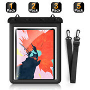 1/2/3/5pack Ipx8 Waterproof Case, Dry Bag Pouch For Ipad,galaxy Tab S,surface Go