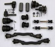 Cadillac Deluxe Front End Suspension Kit Tie Rod Ends+ball Joints+bushing 65-68