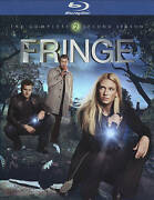 Fringe The Complete Second Season Blu-ray, 4-disc Set New