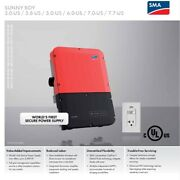 Andnbspsma Sb3.0-1sp-us-40 3kw String Inverter New Has Secure Power Supply