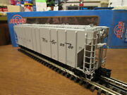 Atlas O 6387-6 Rio Grande Ps-4427 Low Side Hopper 15091 W/opening Hatches 3-r