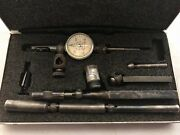 Starrett 711lcsz Last Word Dial Test Indicator With Attachments And Case
