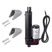 4 Inch Stroke Linear Actuator 1500n/330lbs Pound Max Lift 12v Volt Dc Motor Us