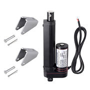 4-6 Inch Stroke Linear Actuator 1500n/330lbs Pound Max Lift 12v Volt Dc Motor