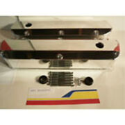 Racing Power Rpc R6343pol Engine Valve Covers Fab 1962-85 Sb Ford V/c With Hol