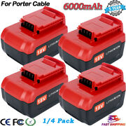 18v Lithium Battery Pc18blx Replacement For Porter Cable Pc18b Pc18blex Pcc489n