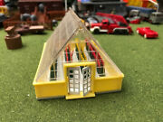 Extremely Rare Plasticville Ho Scale Yellow Greenhouse Read Everything Below