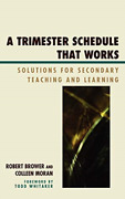 Trimester Schedule That Workscb Bookh Neuf