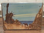 Original Mego 1967 Planet Of The Apes Village Playset Vintage Toy Near Complete