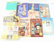 Antiques, Collectibles, Dolls, Toys, Reference And Value Guide Lot Of 8 Books