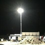 31and039h Telescopic Light Pole Alum Led Lamps 120w Dc48v Us Tower Alm-31 In Truckbed