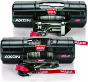 Warn 101140 Axon 4500 Wire Rope Winch Synthetic