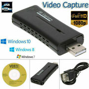Hdmi To Usb2.0 Video Capture Card 720p Recorder Phone Game/video Live Streaming