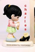 Precious Moments Philippines Exclusive Whoand039s Gonna Fill Your Shoes 109029 Cory