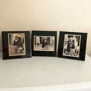 3 Kim Anderson 1995 Vintage Enesco Wall Plaques Hang Or Easel Back Art Pictures