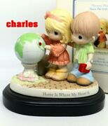 Precious Moments Singapore Thots Exclusive Hohme Is Were My Heart Is 159045 Rare