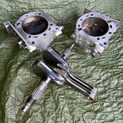 Ducati 999 High Compresion Pistons Cylinders Crankshaft Knife Cut Carrillo Rods