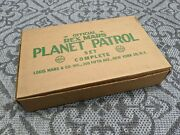 Marx 1950and039s Rex Mars Planet Patrol Play Set Excellent Original Space Toy Box