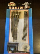 N Scale Atlas 2700 Left Hand Remote- Right Turnout/switch Snap-track- Quantity 2