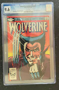 Wolverine Limited Series Comic Books Cgg 9.6 Complete Set 1,2,3,4 1 2 3 4