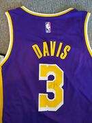 Anthony Davis Signed Official Los Angeles Lakers Jersey Uda And Jsa Coa Nba Rare