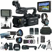 Canon Xa15 Compact Full Hd Camcorder With Sdi Hdmi And Composite Bundle 2